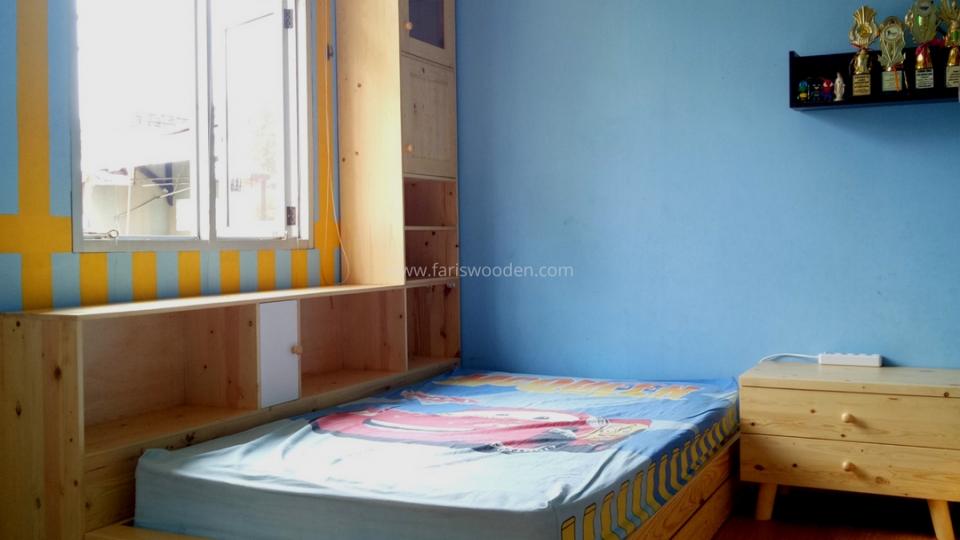 Bedroom Set Jati Belanda (Kamar Anak)