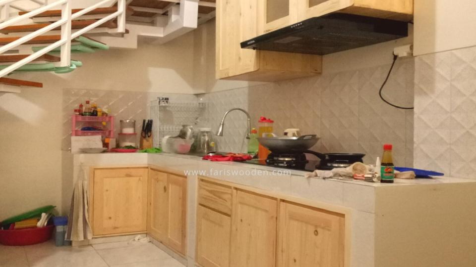 Kitchen Set Berkelas Jati Belanda