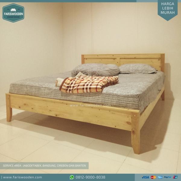 Tempat Tidur Jati Belanda