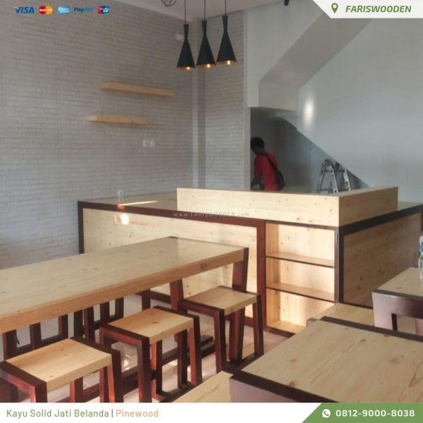Meja Kursi Cafe